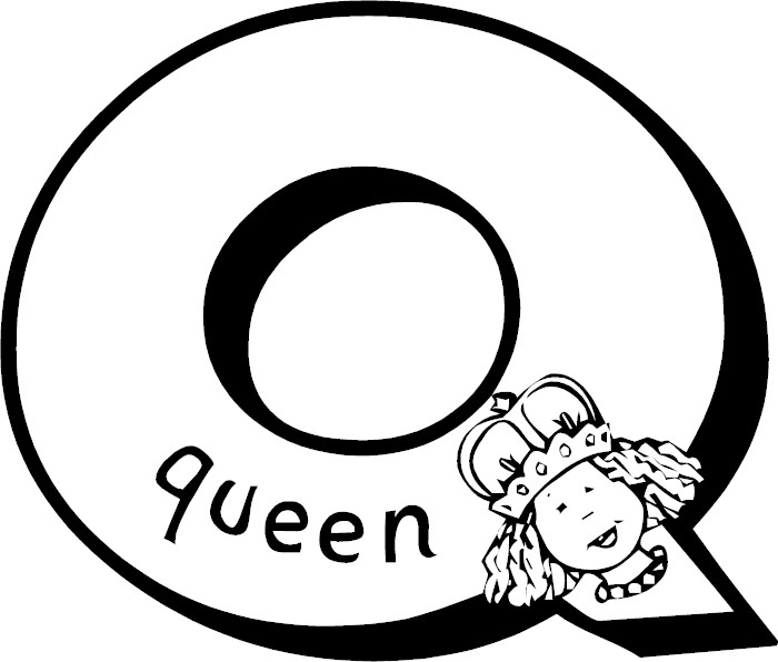 q letter coloring pages - photo #27