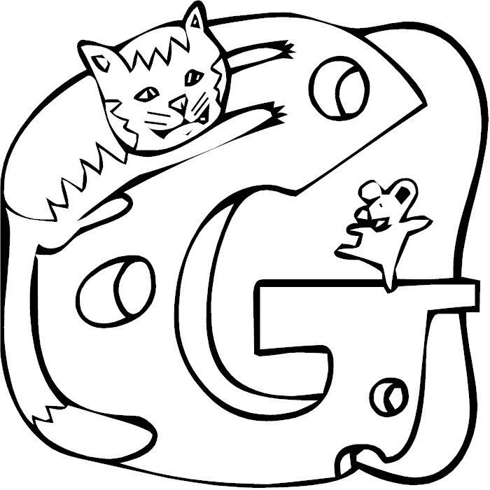 Medieval Alphabet Coloring Pages : Century gothic alphabet coloring pages