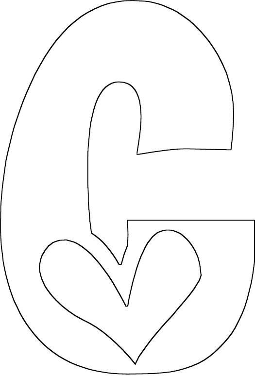 Full Letter C Coloring Page The Letter C Coloring Pages