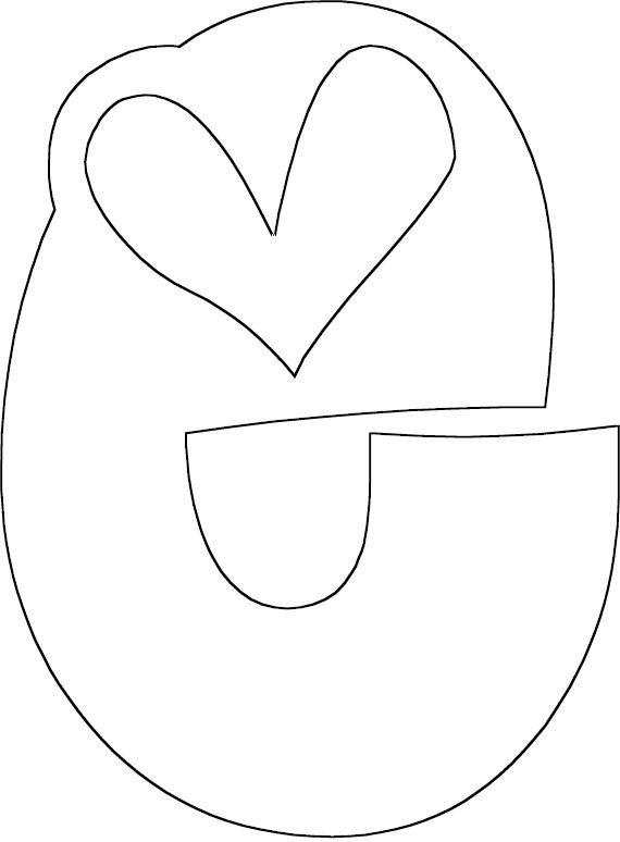 e coloring pages - photo #6