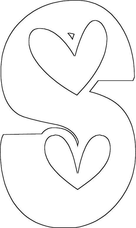 s coloring pages - photo #20