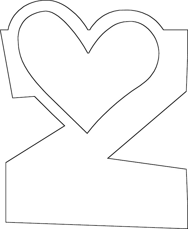 the letter z coloring pages - photo#26