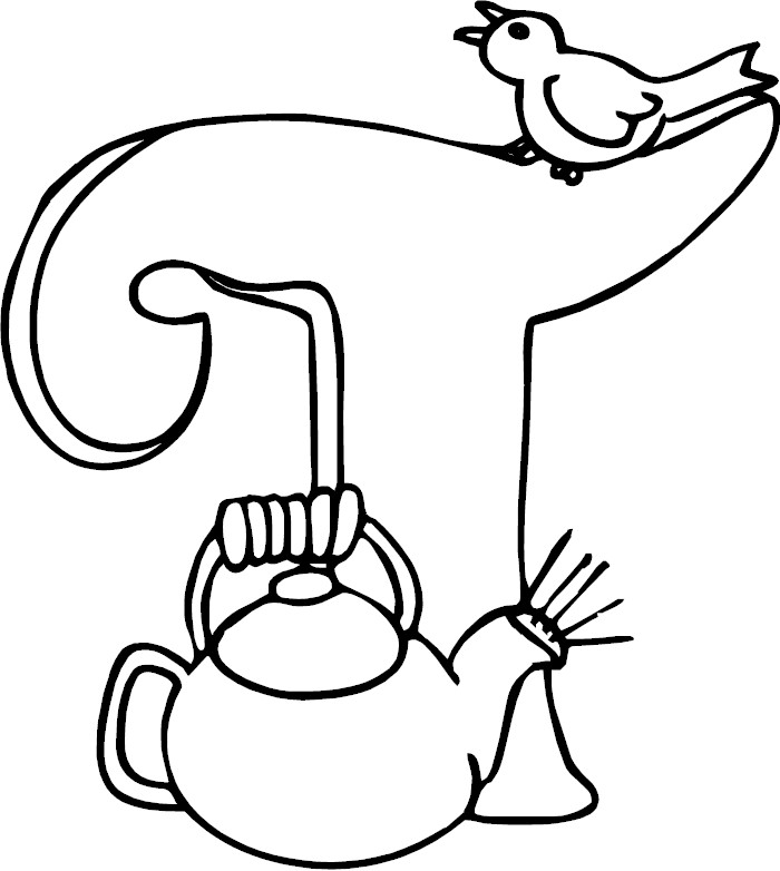 t coloring pages - photo #21