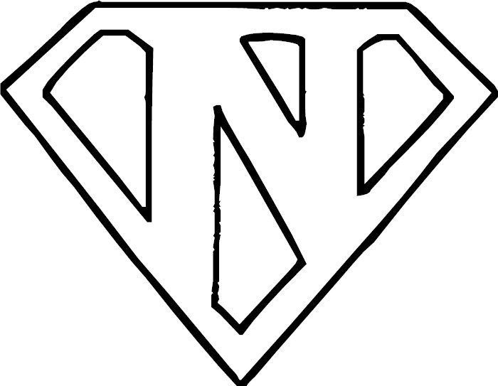 free coloring pages of letter n