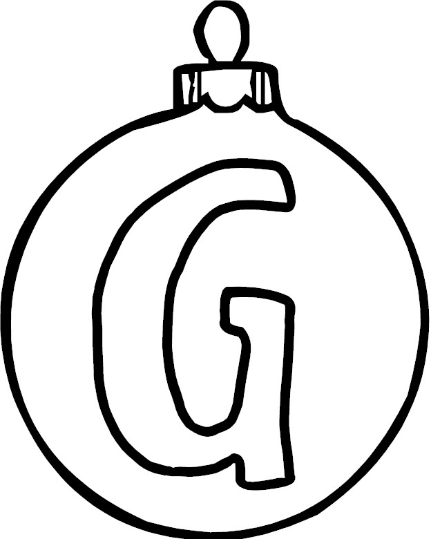 g coloring pages - photo #18