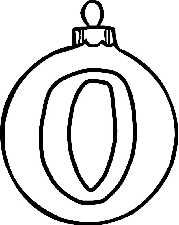 Free Coloring Pages Of Letter O