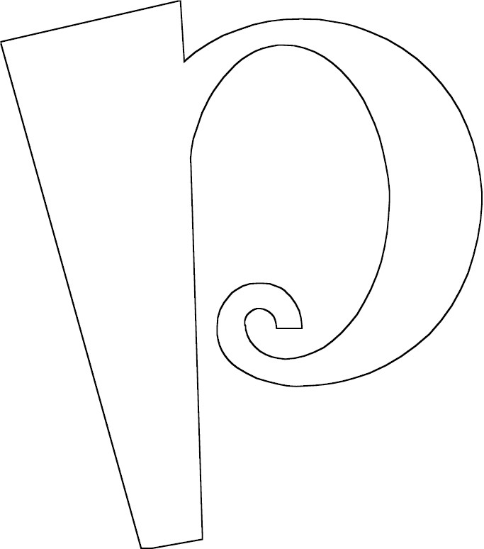 Free Coloring Pages Of The Letter P