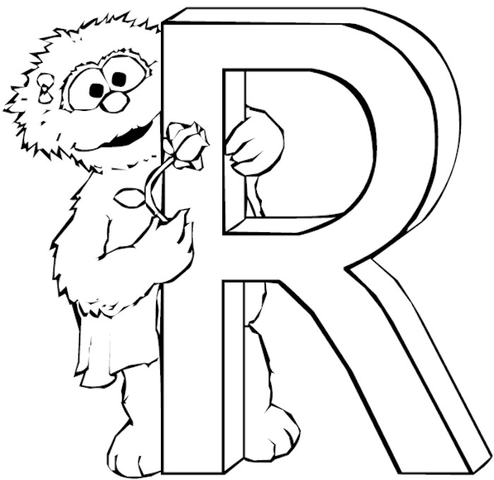 dltk alphabet coloring pages - photo#8