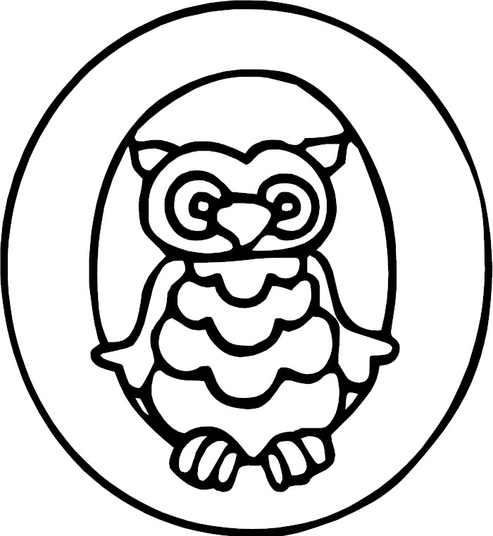 pics photos letter o coloring page