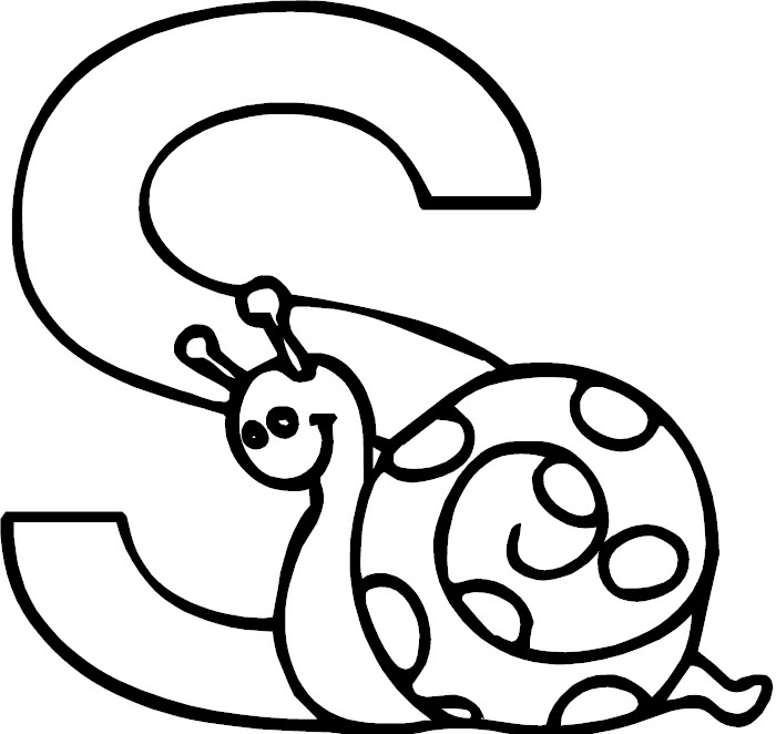 s letter coloring pages - photo #5