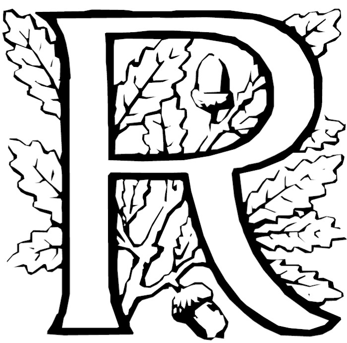 r letter coloring pages - photo #34