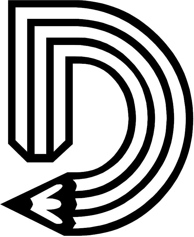 Letter A  D