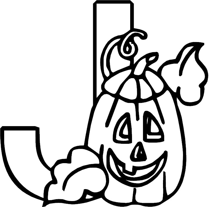 Letter J Coloring Pages Printable